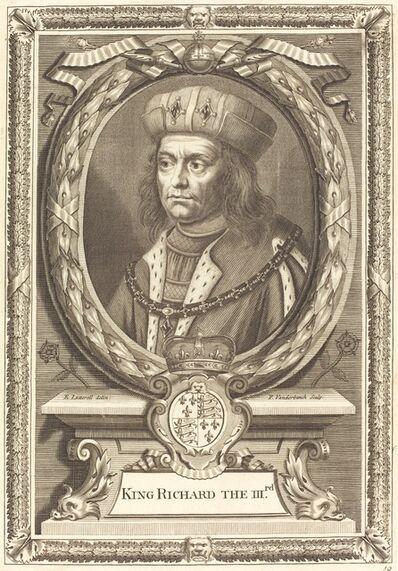 Pieter van der Banck after Edward Lutterell, 'King Richard III'