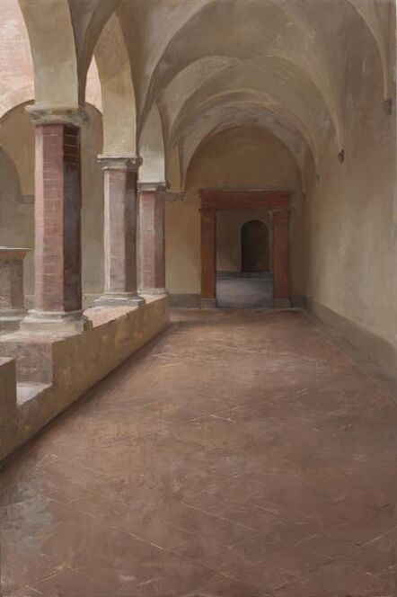Kenny Harris, 'Monte Olivetto Cloister (Tuscany series)', 2012