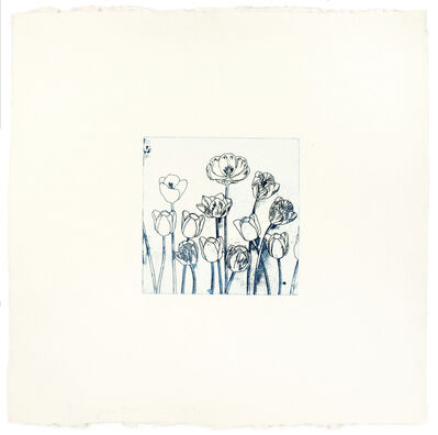 Jim Dine, 'Blue Tulips', 1973
