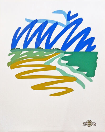 Tom Wesselmann, 'SEASCAPE (ROUND)', 1993