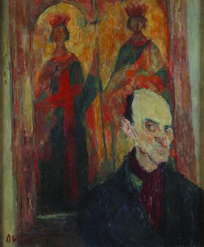 IVO DULČIĆ, 'Portrait of Kosta Strajnić', 1948