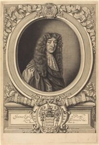 William Faithorne after Sir Peter Lely, 'James Drummond, Earl of Perth'