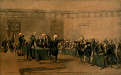 Charles Edouard Armand-Dumaresq, 'The Declaration of Independence of the United States of America, July 4, 1776', ca. 1873
