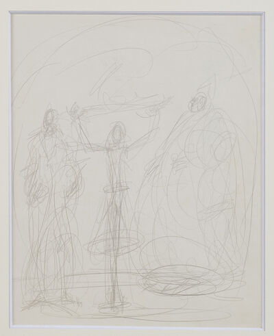 Alberto Giacometti, 'Double Face', ca. 1951