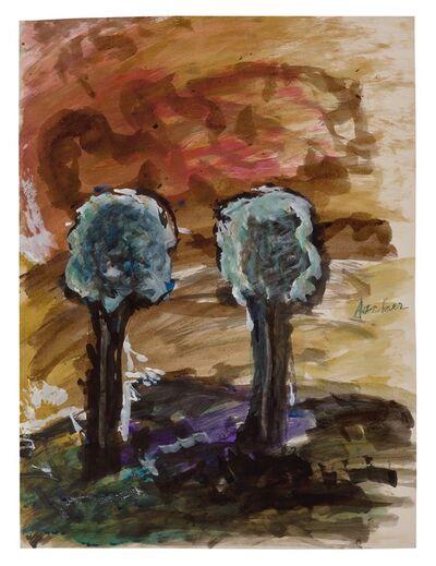 Fritz Ascher, 'Two Trees', 1958 (?)