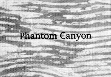 Stacey Steers, 'Phantom Canyon (film)'