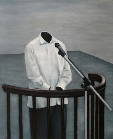 Nguyen Thai Tuan, 'Black Painting No. 20', 2008