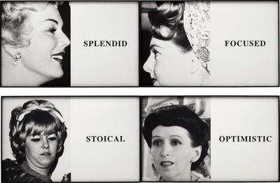 John Baldessari, 'Prima Facie: Splendid/Focused/Stoical/Optimistic', 2005