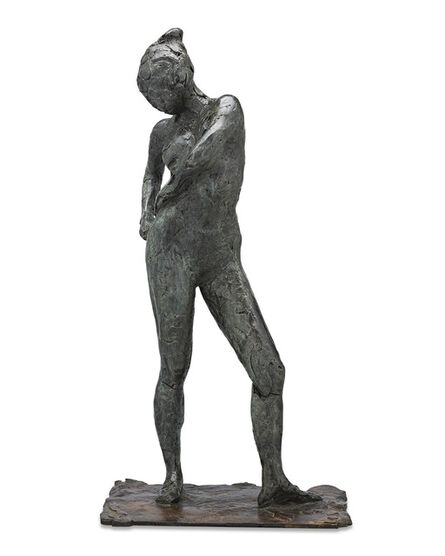 Edgar Degas, 'Dancer Fastening the String of Her Tights', 1998