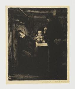 Käthe Kollwitz, 'Death', 1893-1897