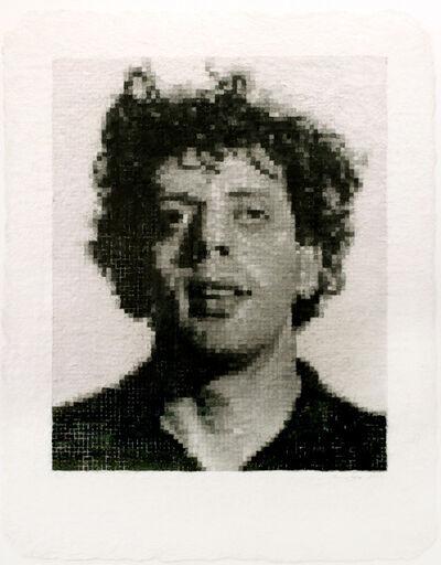 Chuck Close, 'Phil I (White)', 1982