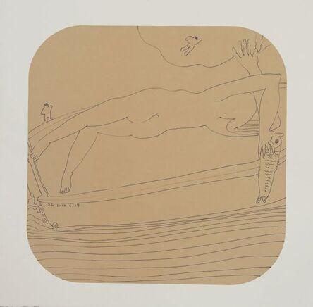 Xianfeng Zhao, 'Reclining Figure'
