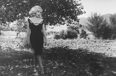 Inge Morath, 'Marilyn on the set of the Misfits, Reno, Nevada, USA', 1960