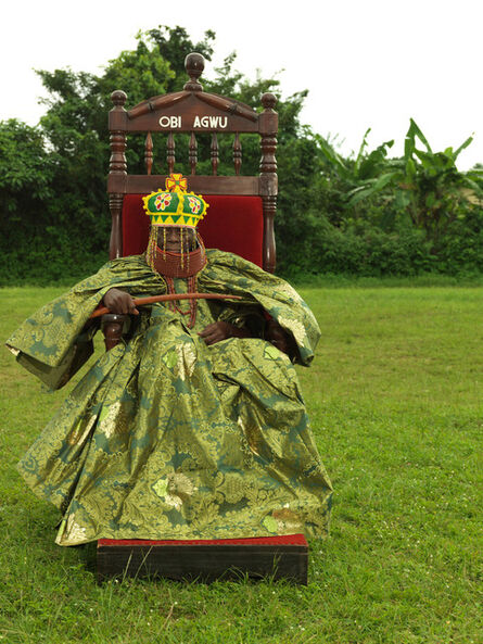 George Osodi, 'HRM Agbogidi Obi J ames Ikechukwu Anyasi II , Obi of Idumuje Unor', 2012