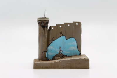 Banksy, 'Walled Off Hotel - Wall Sculpture (Beach)', 2018