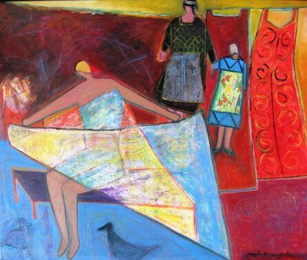 Josette Simon-Gestin, ''Impressions Bretonnes #2,' by Josette Simon-Gestin, Acrylic on Canvas Painting', 2018
