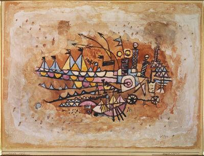 Paul Klee, 'Port Scene'
