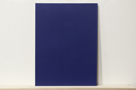"""Martí Cormand, 'Formalizing their concept: Sherrie Levine's """"Blue and Gray Monochromes After Stieglitz: 1-36""""', 2018"""