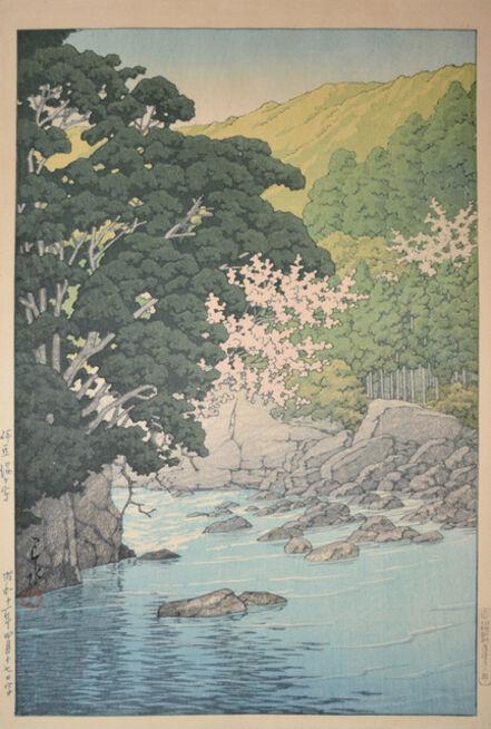 Kawase Hasui, 'Yugashima in Izu', 1936