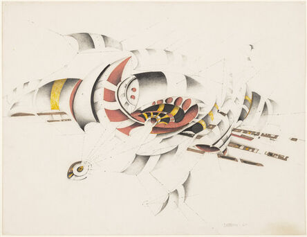 Lee Bontecou, 'Untitled', 1967