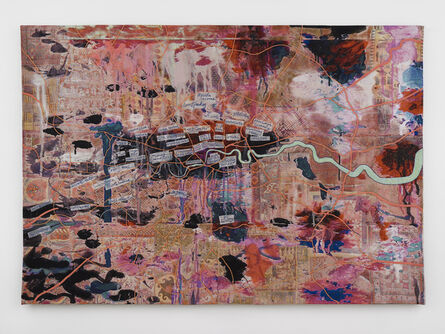 Grayson Perry, 'Large Expensive Abstract Painting', 2019