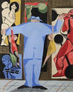Jacob Lawrence, 'Strong Man', 1951