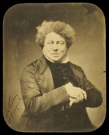 Nadar, 'Alexander Dumas pŠre (1802-1870) / Alexandre Dumas', 1855