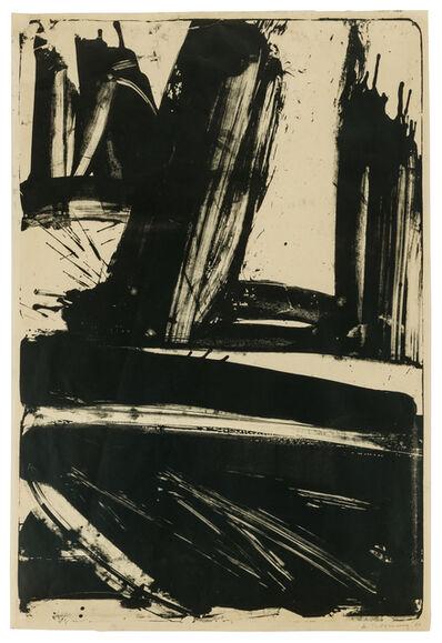 Willem de Kooning, 'Litho #1 (Waves #1)', 1960