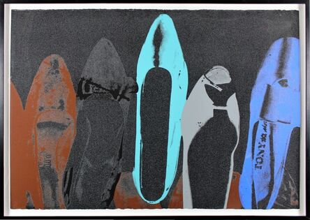 Andy Warhol, 'Diamond Dust Shoe 257 ', 1980
