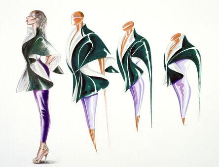 Antonio Lopez, 'Shoe Metamorphosis, Alvina Bridges/Charles James', 1978