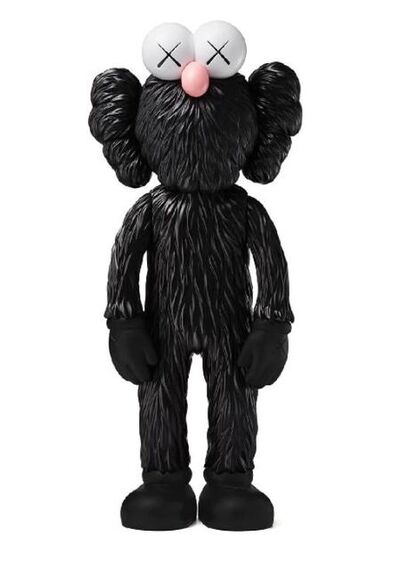 KAWS, 'BFF Vinyl Figure - Black', 2019