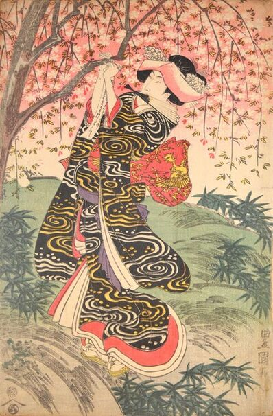 Utagawa Toyokuni I, 'Spring Time', ca. 1805