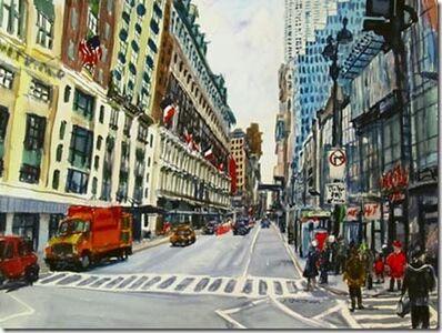 Richard Fitzhugh, 'Third New York Manhattan Flags'