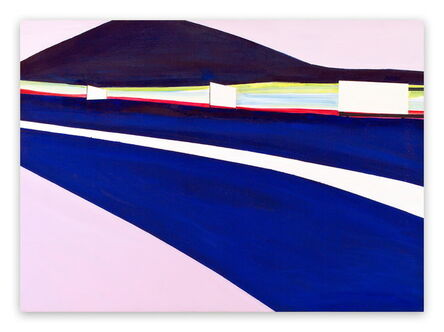 Laura Newman, 'High Beams (Abstract Expressionism painting)', 2011