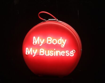 Michele Pred, 'My Body My Business (American Tourister)', 2014