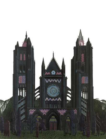 Luke Painter, 'Cathedral (Neon Gothic)', 2013