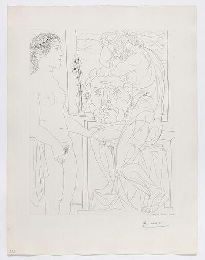 Pablo Picasso, 'Modèle nu et Sculptures', 1933