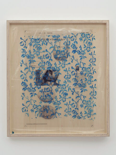 Yuki Okumura, 'Collaboration Study (Agathe's Ashtray – Blue)', 2019