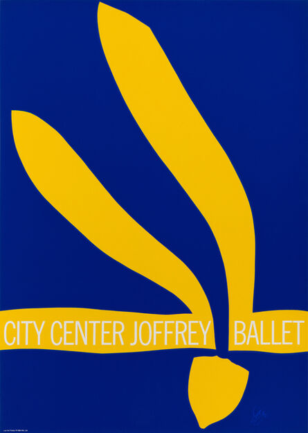 Jack Youngerman, 'City Center Joffrey Ballet', 1968