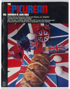 Les Mason, 'Epicurean Magazine Cover Design Number 19', 1969