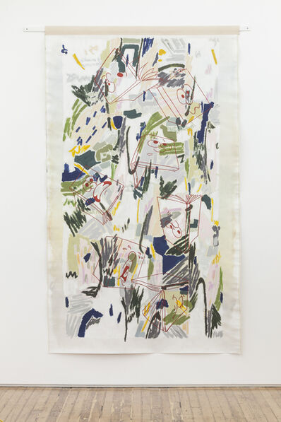 Helen Johnson, 'Passing through as a bee visiting flowers', 2015