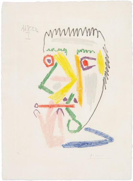 Pablo Picasso, 'Fumer à la Cigarette Rouge', August 22-1964