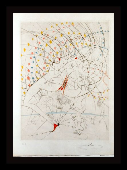 Salvador Dalí, 'La Venus aux Fourrures Lady Leaf', 1968