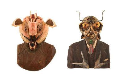 Dr. Lakra, 'Sin título / Untitled (Chaleco y pañuelo blanco y Collar de Flores)', 2007
