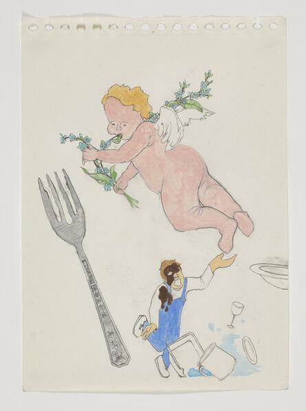 Scoli Acosta, 'Putti Poop on the Dishwasher', 2012