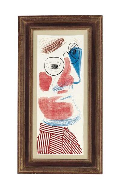 David Hockney, 'Self Portrait', 1986