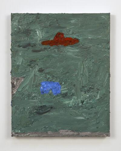 Marc Zajack, 'Blue Shorts, Red Hat', 2015