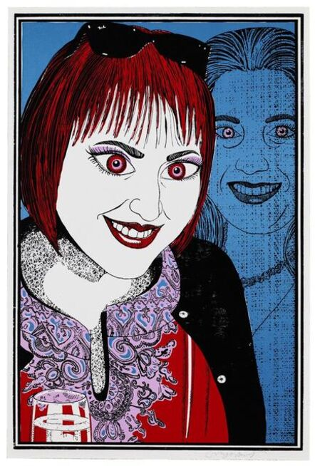 Grayson Perry, 'Six Snapshots of Julie (4)', 2015