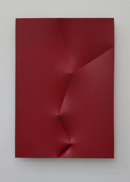 Jan Maarten Voskuil, 'Dform colouring red karmine', 2014