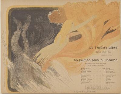 Louis Abel-Truchet, 'Program for Le Théatre Libre's production of The Smoke, then the Flame', 1895